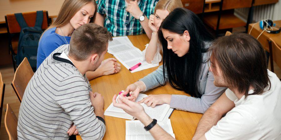 studerende gruppe